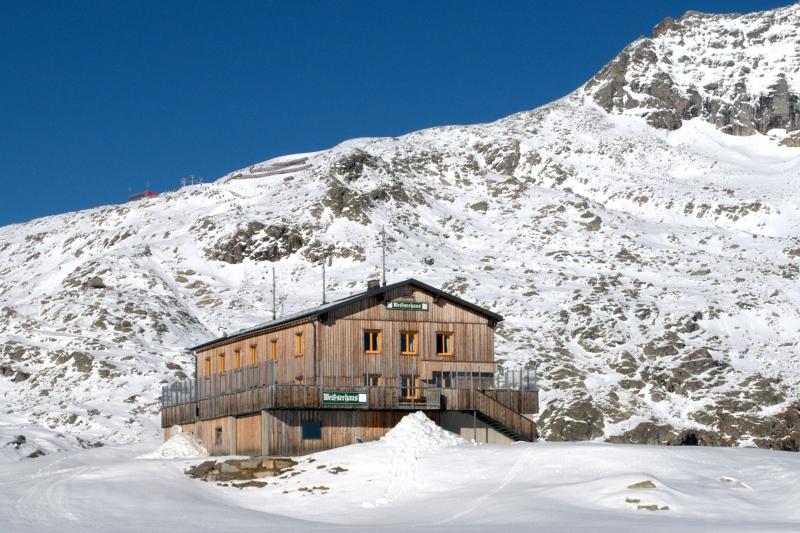 Weißseehaus am Mölltaler Gletscher