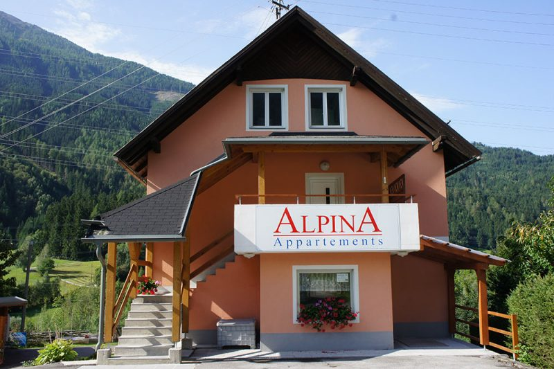 Appartmenthaus Alpina Flattach